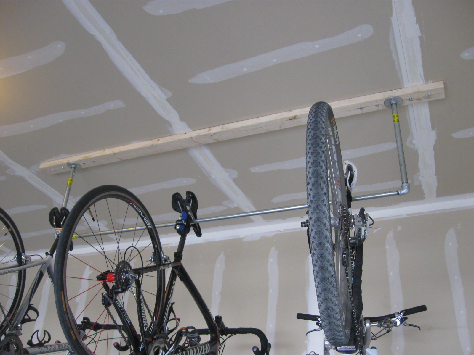 product hanging bike hang garagebhr bicycle bikes tidygarage rack garage in