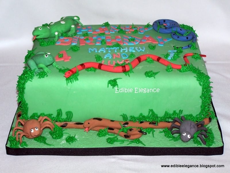 Reptile Cake Toppers