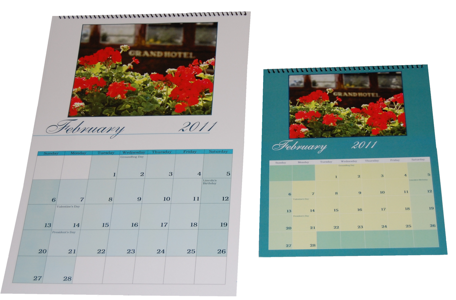 Freeze Time Frame Memories: Custom Calendars Make GREAT Holiday Gifts!