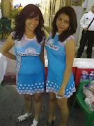 CHICAS DE HOY. EDECANES EN EL TRIATLON DEL MEDANO chicas powerade