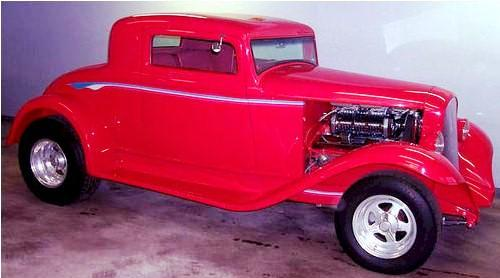 Hot rod 1932 plymouth 3 window coupe for 1933 dodge 5 window coupe