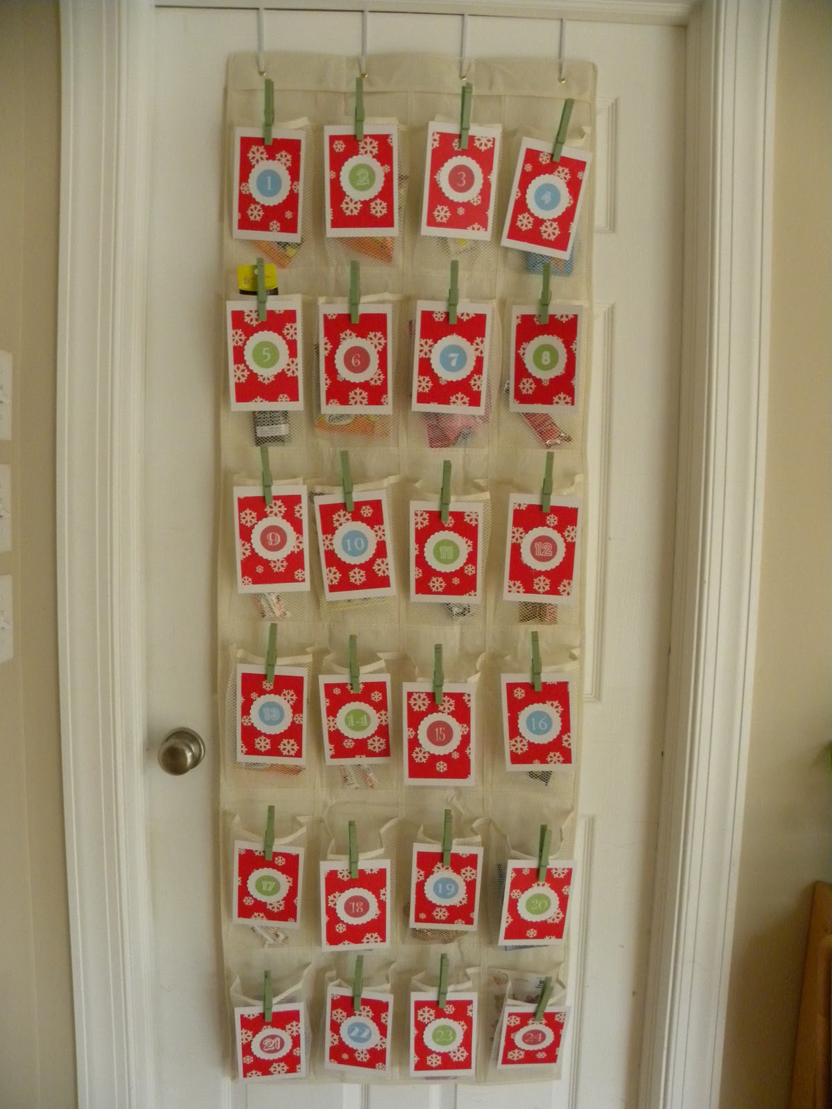 Advent Calendar Homemade : Homemade by lauren days of christmas day