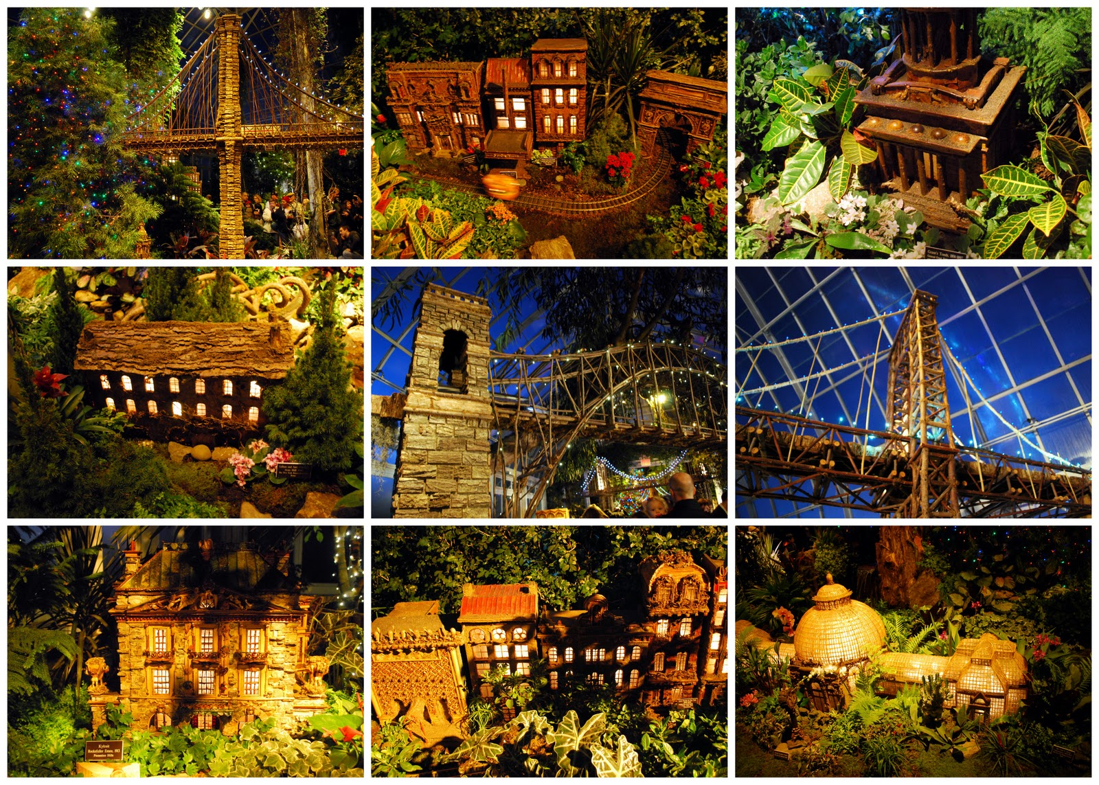The NY Botanical Garden Holiday Train Show