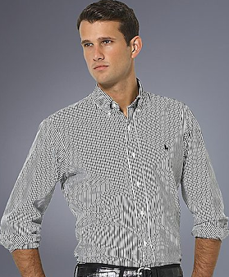 Classic-Fit Bengal Striped Shirt