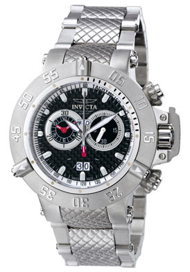 Invicta Chronograph Stainless Steel Watch