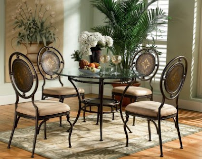 Basil Dining Room Furniture Set