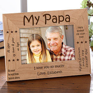 Sweet Grandparents Personalized Frame