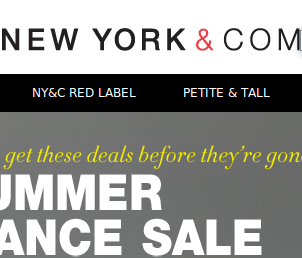 New York & Company Coupons and Deals