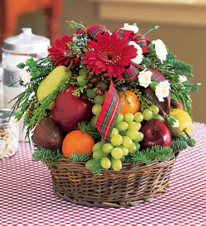 flowers plants christmas fruit baskets make your special