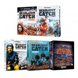 Deadliest Catch Seasons 1-5 DVD Set