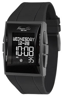 Kenneth Cole New York Rectangle Digital Watch