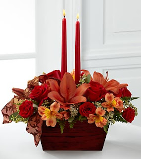 FTD Autumn Thanksgiving Centerpiece