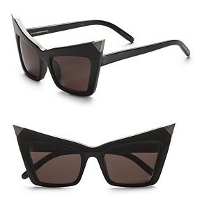 Alexander Wang Pointed Cat Eye Sunglasses