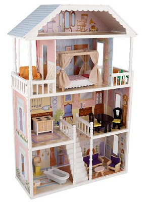 Doll house perfect holiday gift for your little doll for Barbiehuis meubels