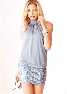 Sequin Skirt Temptress Dress