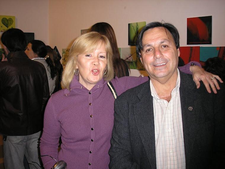 Cali y Expositora Diana de Vasconcellos