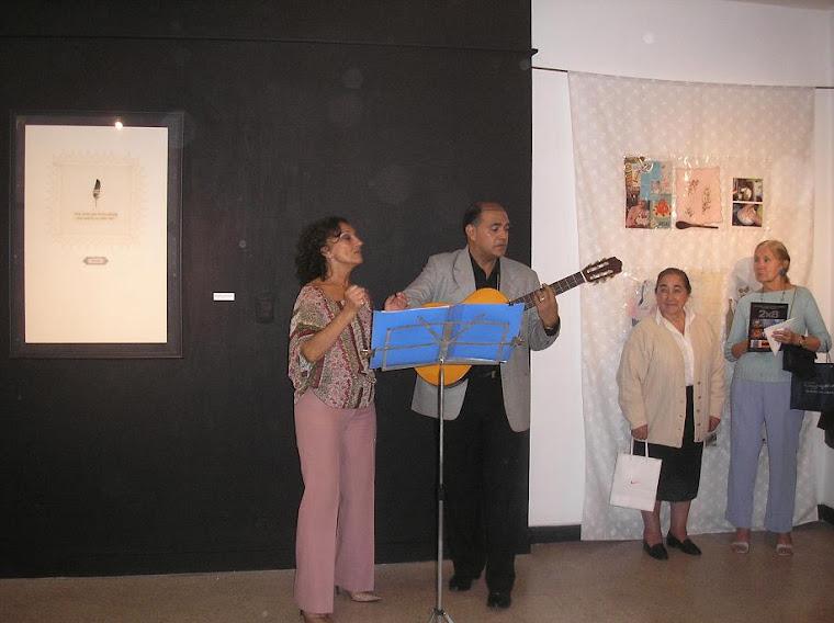 Alejandro Bogado e Iris Sancarelli