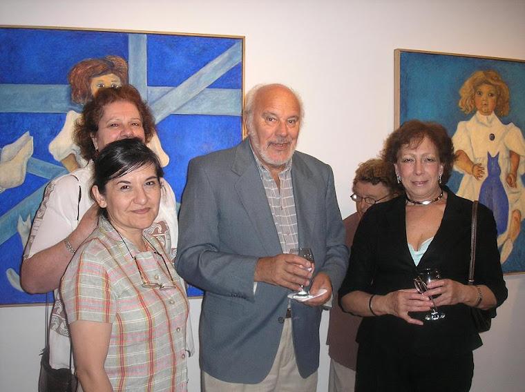 Ma. Angélica Carter Morales, Emilio Ghiglione y Ma. Elena Pires Gregorio