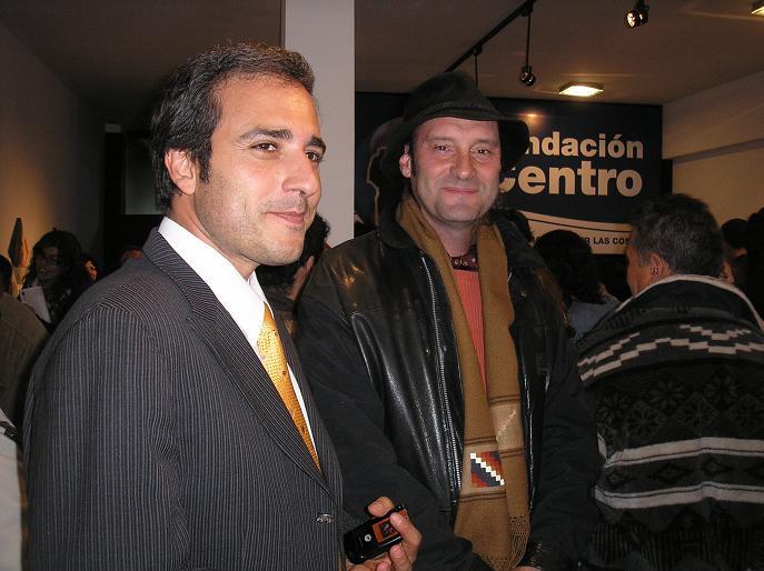 Dr. Matinez con Oscar Vega