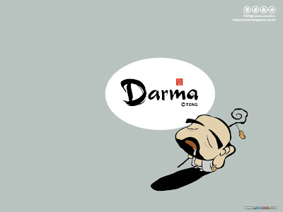 wallpaper cartoon korean. Korean cartoon : Darma-monk