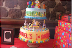 Daniel's 1st Birthday Cake