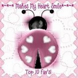 Makes My Heart Smile Award for this blog!
