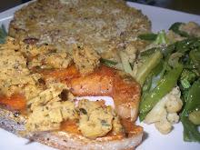 Pink Salmon Platter
