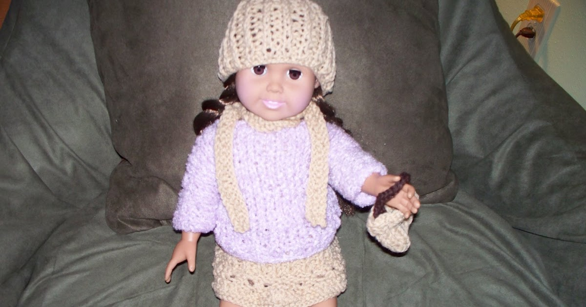 Knitting Nellys Yarn Cache: Doll Purse for 18
