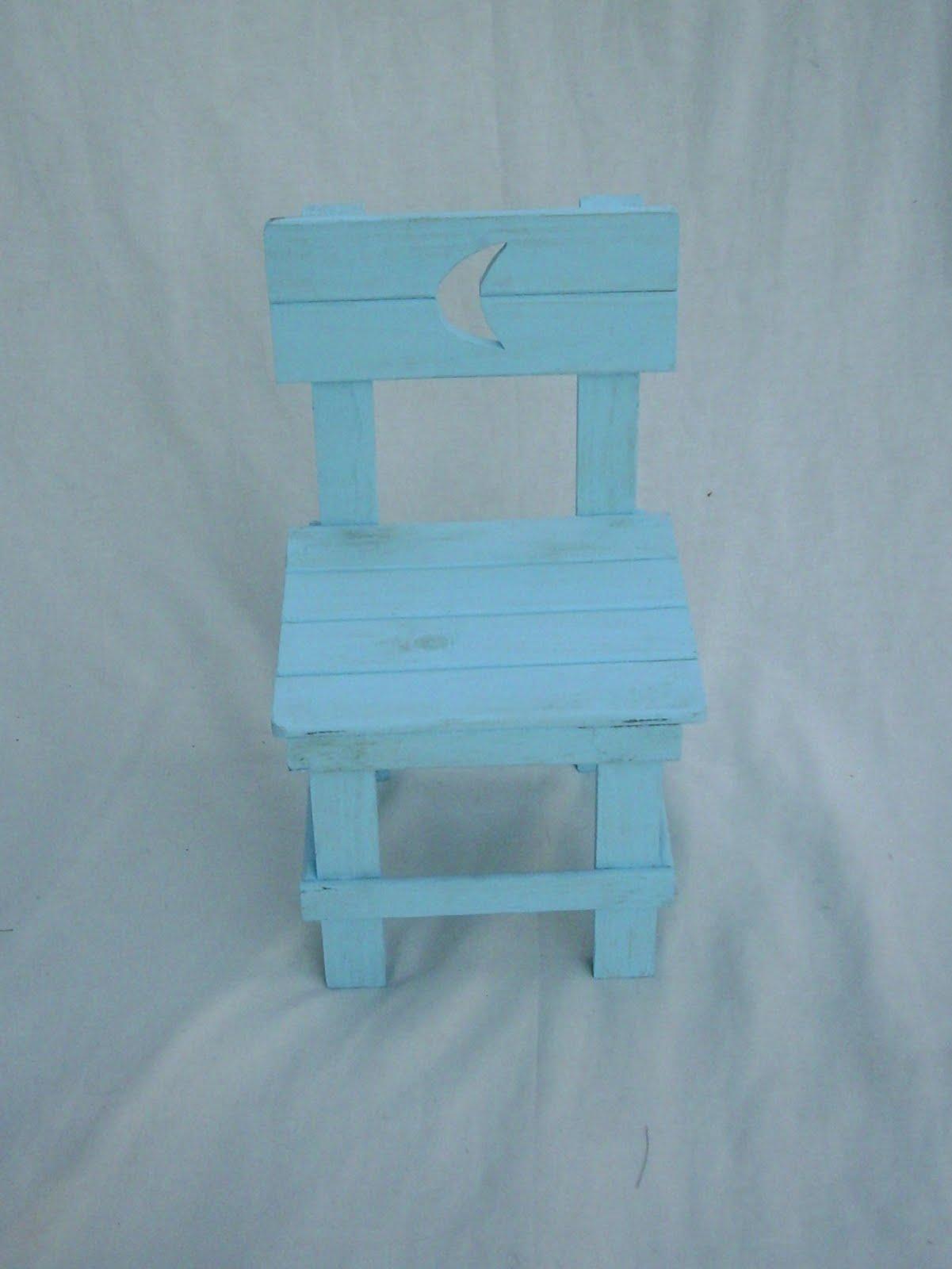 Jr mesas y sillas parachicos silla de pino pintada - Sillas de pino ...