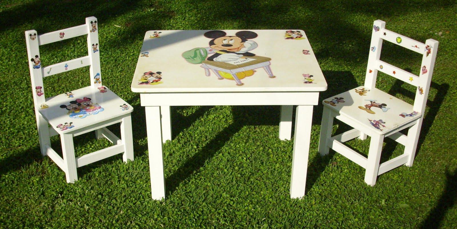 Jr mesas y sillas parachicos juego de mesa y 2 sillas - Sillas de pino ...