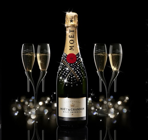 Pictures on Vinos Recomendados  Champagne Moet   Chandon Brut Imperial  Francia