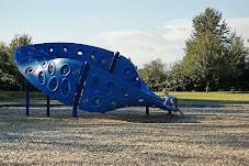 A Moebius strip sculpture at a park near Abbottsford hospital, England