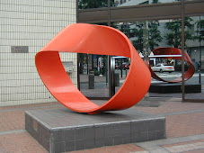 A Moebius strip sculpture in Japan.