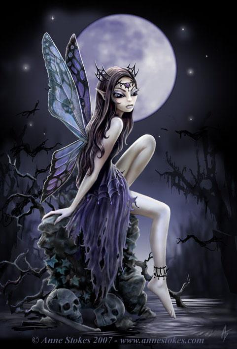 Emo Indigo: gothic faeries part 2