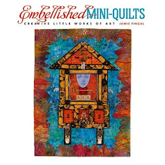 EMBELLISHED MINI-QUILTS, Jamie Fingal
