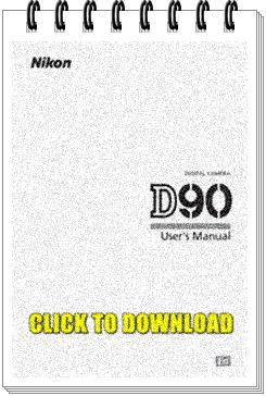 Nikon D90 Manual English
