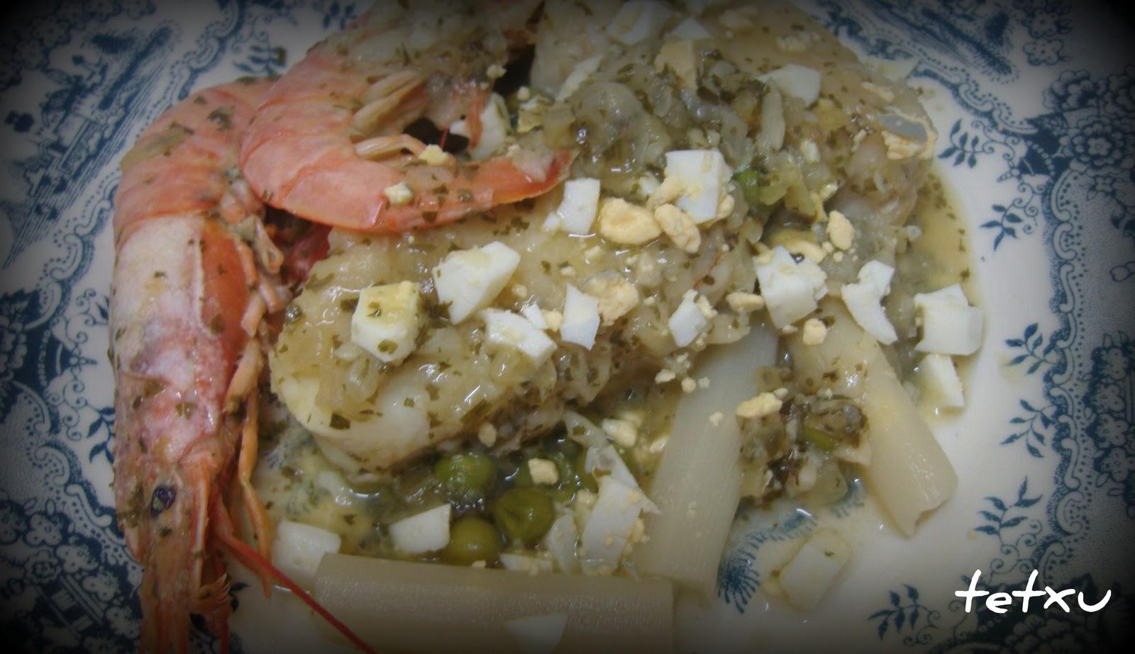 Entre pucheros y recetas lomos de merluza en salsa verde for Lomos de merluza en salsa verde
