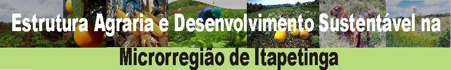 Estrutura Agrária e Desenvolvimento Sustentável na Microrregião de Itapetinga