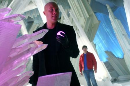 fortress of solitude smallville. break into the Fortress of
