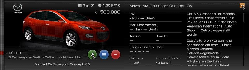 Psp Fuhrpark Mazda Mx Crossport Concept 05