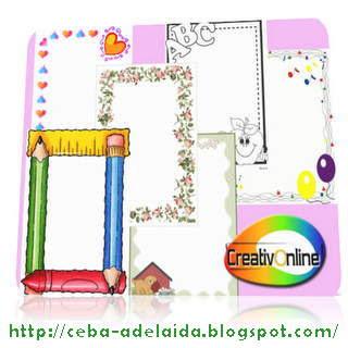 Bordes Decorativos - CreativOnline Pack 2009