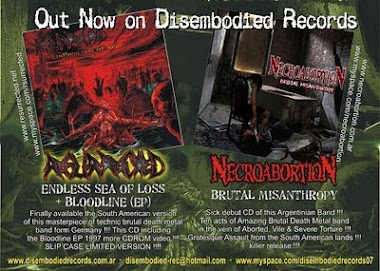 DISEMBODIED RECORDS