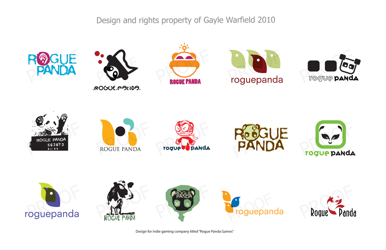 GayleWarfield Logo Design set