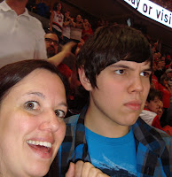 Trailblazers basketball game