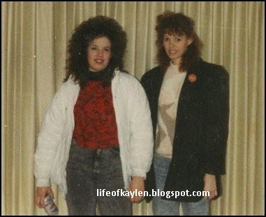 The high school years were great for my hair. I remember feeling REALLY ...