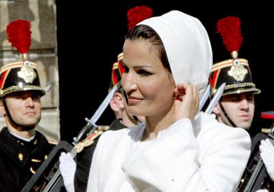 Fashion Blogger Olivia Lopez on Modhah  Fashion Icon Of The Week   Shaikha Moza Al Misned
