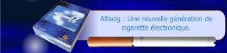 Cigarette électronique Alfacig