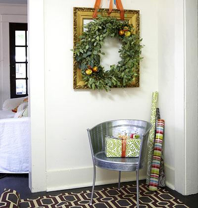 Una corona de navidad vegetal tatamba decoraci n y - Regalos originales decoracion ...