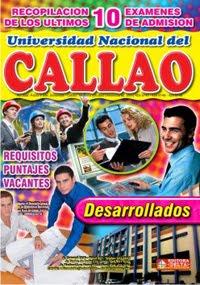 RECOPILACION DE EXAMENES DE ADMISION CALLAO