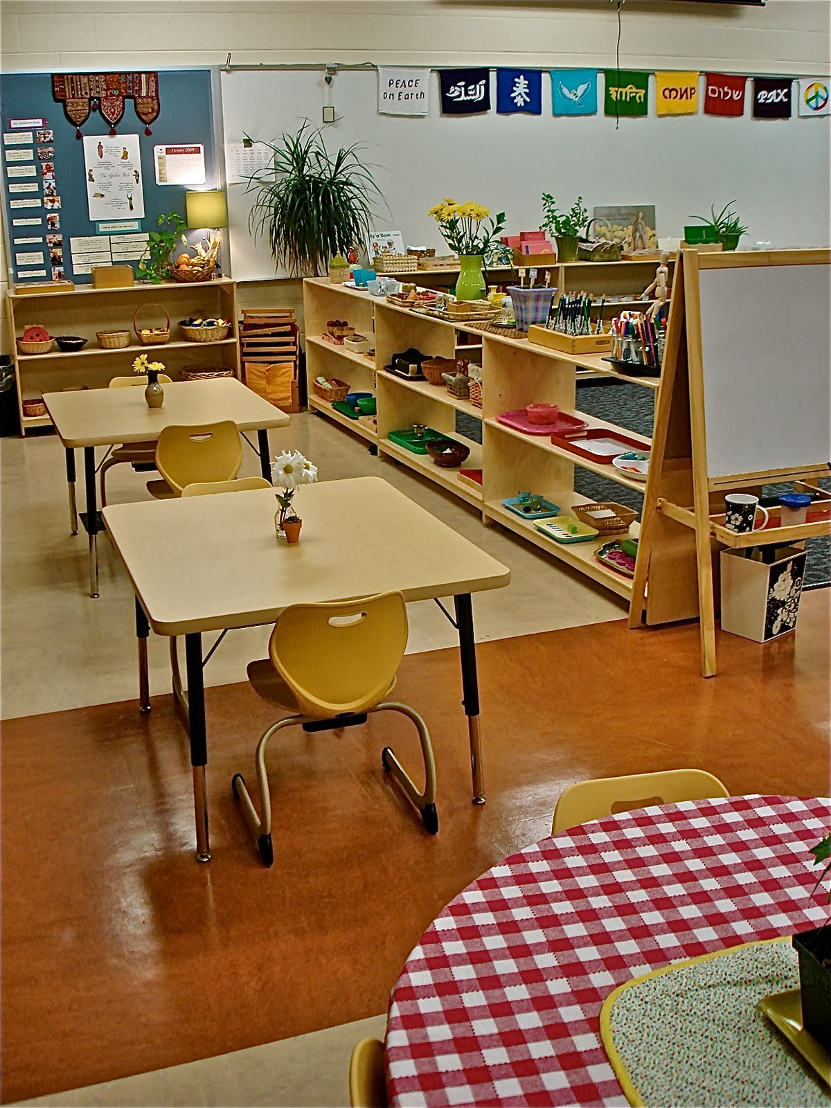 Classroom Decoration Ideas For Montessori ~ The brilliant child april